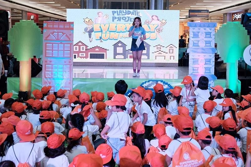 PAMPANGA. North 3's Playdate Project, with over a thousand kids in attendance in Summer of 2019. (Contributed photo)