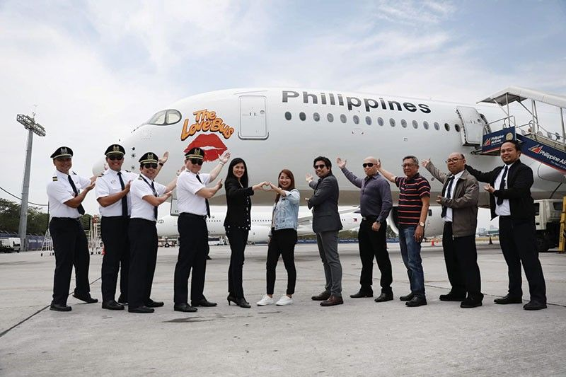 PAL'S AIRBUS 350-900. The sixth in the fleet of aircrafts used for long haul flights to North America and Europe.