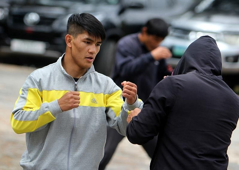 TITLE HUNT. Team Lakay's Danny Kingad starts his build up for another tough assignment as he goes up against former ONE world champion Kairat Akhmetov of Kazakhstan in a ONE Flyweight World Grand Prix Semi-final bout. (Photo by Roderick Osis)
