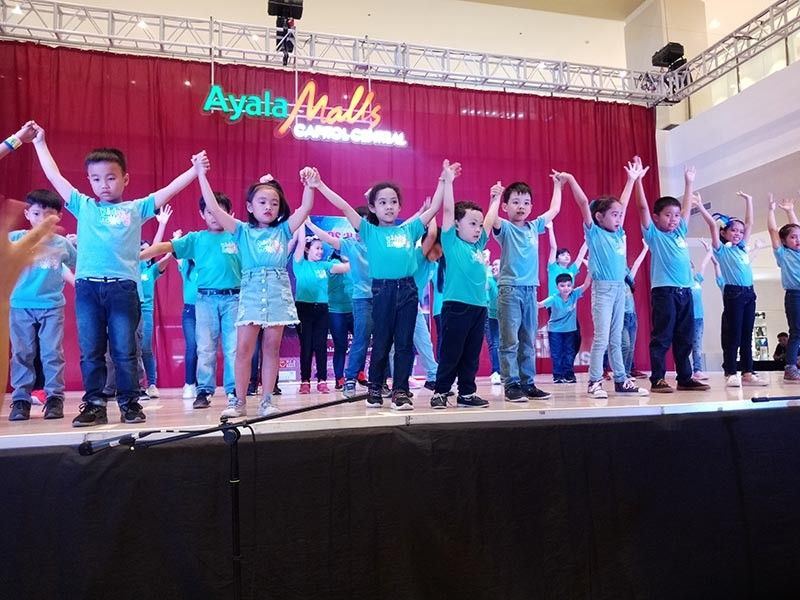 BACOLOD. Kids and teenagers showcased their talents at Ayala Malls Central on June 9, 2019. (Carla N. Cañet)