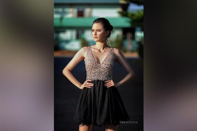 TACLOBAN CITY. Model and beauty queen Gabrielle Camille Basiano (Contributed photo)