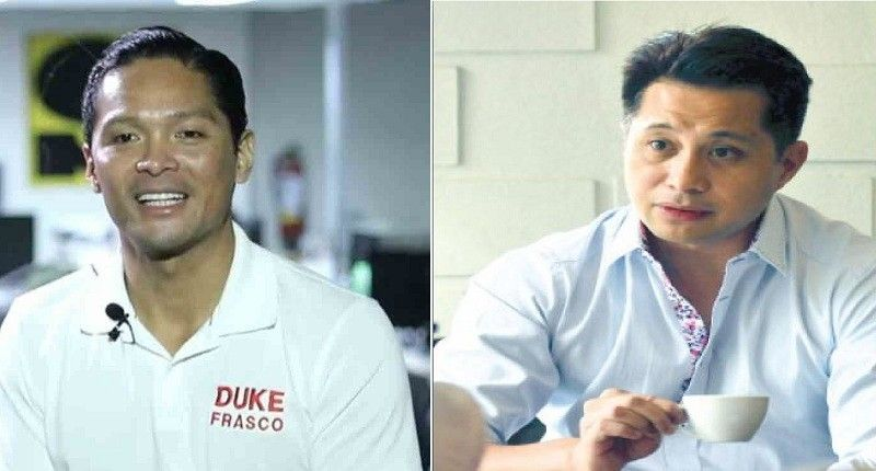 "CEBU. Incoming congressman Vincent Franco ""Duke"" Frasco (5th) and Provincial Board (PB) Member Glenn Soco (6th). (SunStar file)"