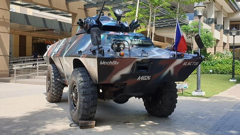 BACOLOD. Enjoy seeing these military vehicles being displayed at the Ayala Malls Central as part of the military's way of celebrating the 121st Philippine Independence Day on June 12, 2019. These military vehicles are used for their anti-insurgency operations.
