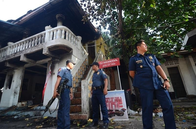 CEBU. The National Bureau of Investigation (NBI) Central Visayas together with some police raid the establishment of Kapa-Community Ministry International in Barangay Poblacion, Compostela, Cebu, Monday, June 10, 2019. (Alan Tangcawan/SunStar file)