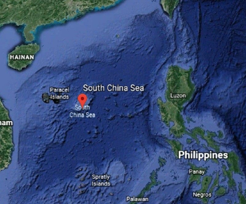 South China Sea (Google Earth)