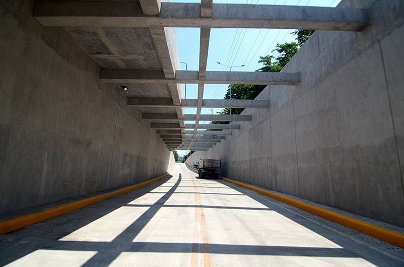 CEBU. Mambaling underpass to open to traffic at 10 a.m. on Saturday, June 15, 2019. (Alan Tangcawan)