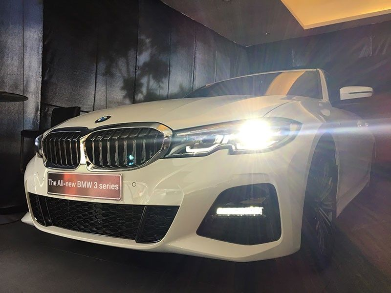 PERFORMANCE AND AESTHETICS. The 3 Series by BMW makes a comeback with an elevated sense of familiarity. The seventh generation of the sports sedan, the G20, features a sportier and younger look. (Photo by Christian B. Quilo)