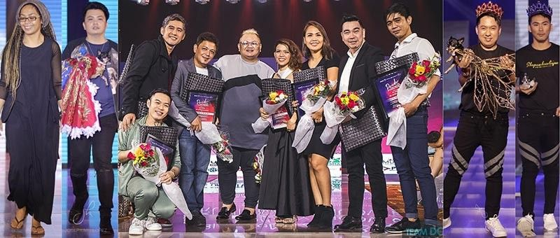 "The participating 11 Fashion Designers of ""PRIDE: The Don Cristobal Runway Show Season 8"" with Jed Velasco (Show Director). (Contributed photo)"