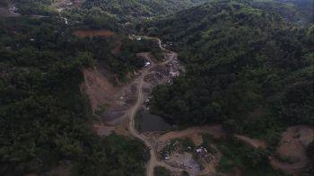 Private landfill in Barangay Binaliw, Cebu City. (Contributed photo)