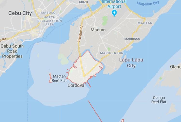 Cordova map. (Google Maps)