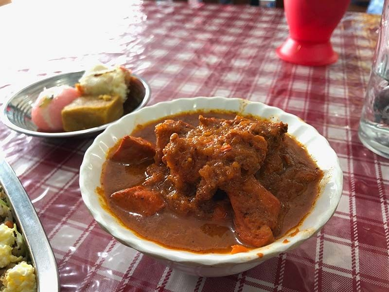 Chicken Masala. (Reuel John F. Lumawag)