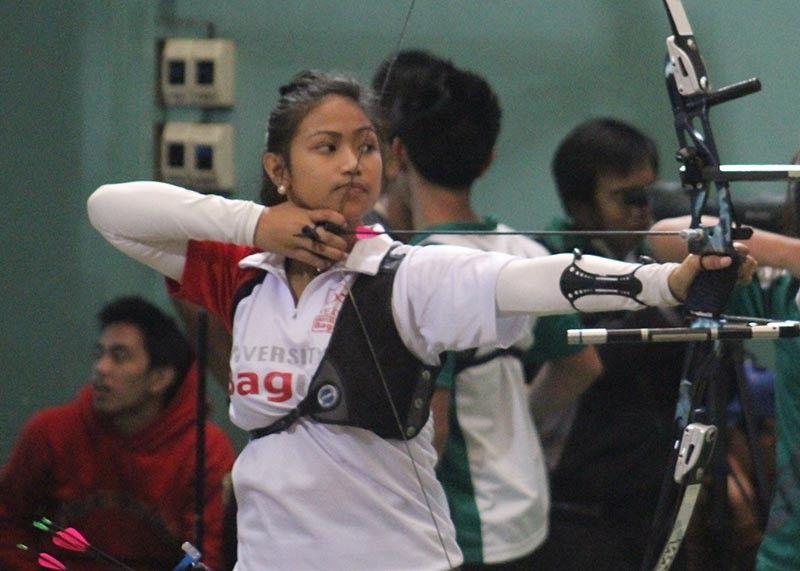 BAGUIO. Southeast Asian Games bronze medalists and Olympic hopeful Kareel Meer Hongitan. (File photo)