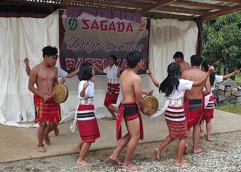 BENGUET. The Sagada Dogo Siwang art hub completes the