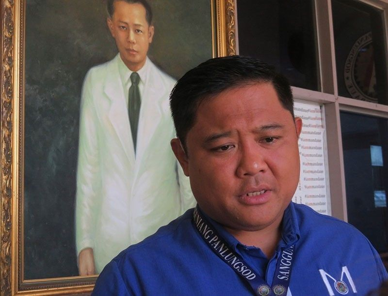 CEBU. Mandaue City outgoing Vice Mayor Carlo Fortuna. (SunStar File)