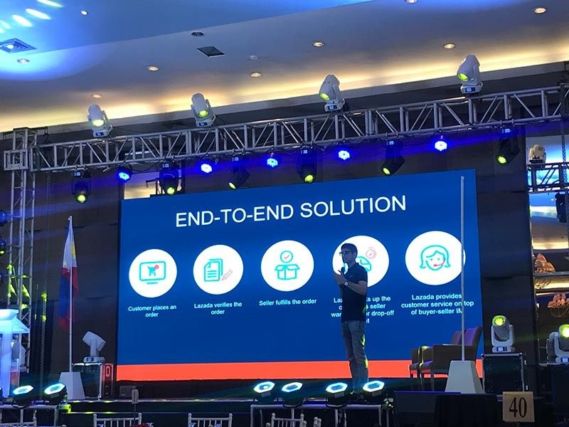 UNLIMITED OPPOR-TUNITIES. Tapping the online platform gives the entrepreneur a wider market reach and high chance of growing its business in this digital age, says Lazada PH vice president and head of Marketplace Muhammad Hussain Khalid. (SunStar photo / KOC)