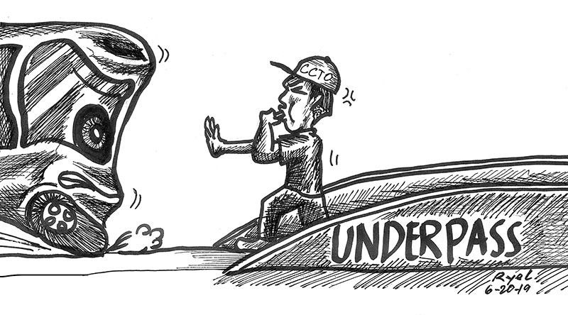 (Editoryal Cartoon by Ariel Itumay)