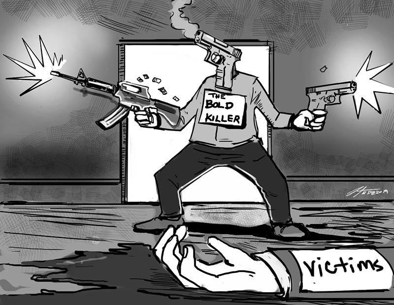 (Editorial Cartoon by Enrico Santisas)