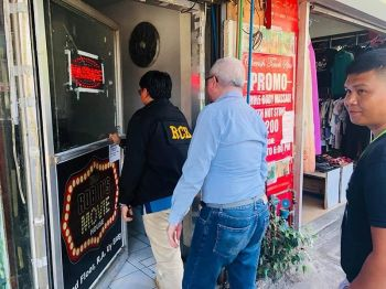 CAGAYAN DE ORO. The RCB team is stepping up its campaign against movie houses violating the Anti-Pornography Ordinance. (Photo courtesy of RCB)