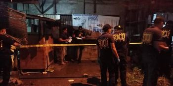 DAVAO. A Sangguniang Kabataan kagawad was killed in an anti-drug operation in Davao City Tuesday evening, June 18, 2019. (Photo by DCPO)