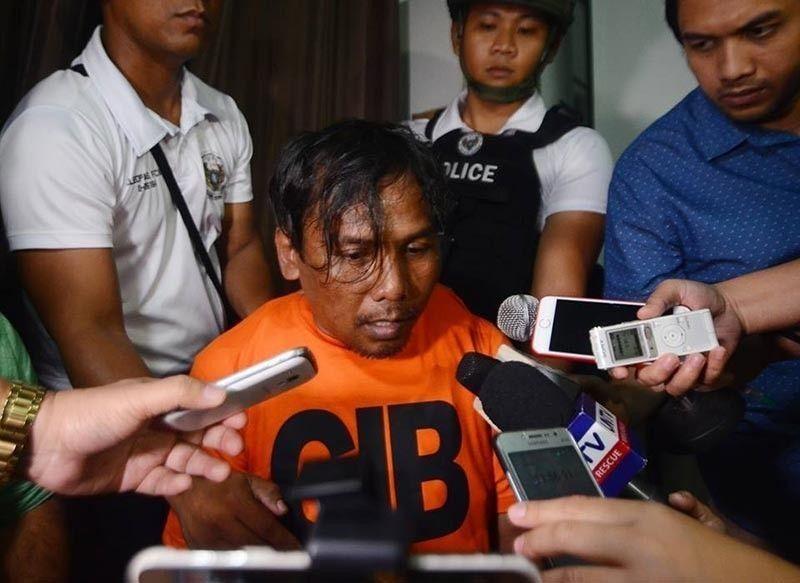 CEBU. Si Renato Llenes, 43, suspek sa pagpatay kang Christine Lee Silawan. (Alan Tangcawan/SunStar File)