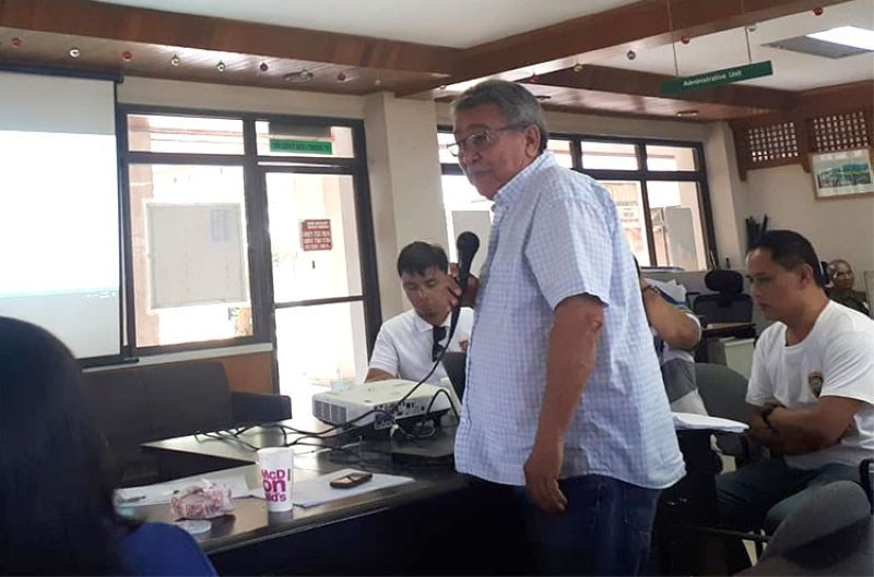 NEGROS OCCIDENTAL. Outgoing Provincial Board Member Pedro Zayco. (Photo from BFP Kabankalan)