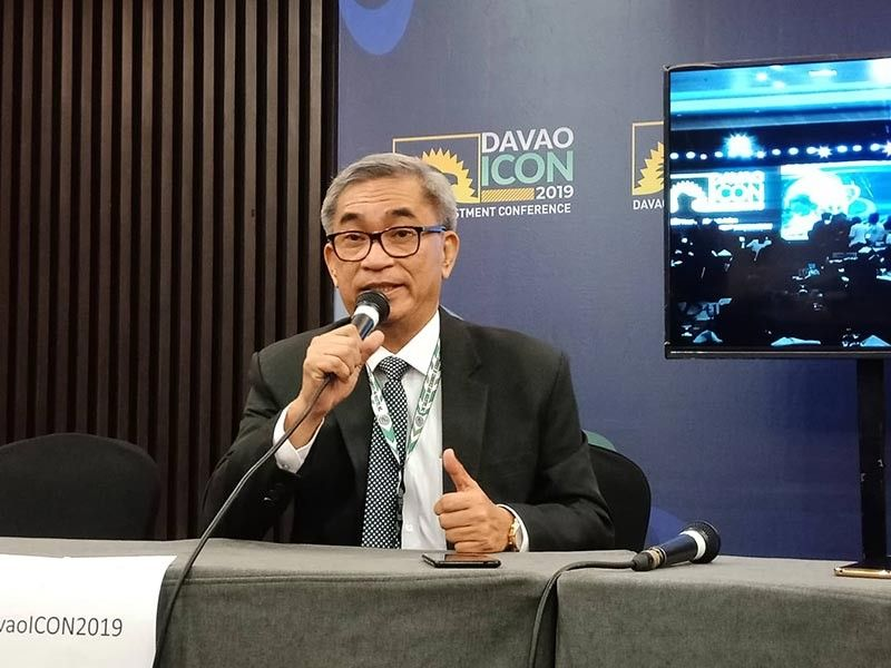 DAVAO. The Davao City Chamber of Commerce and Industry, Inc. (DCCCII) president Arturo Milan urged the completion of the upgrading projects of facilities as the city expect increase trade activities after the two-day Davao Investment Conference 2019. (Contributed photo)
