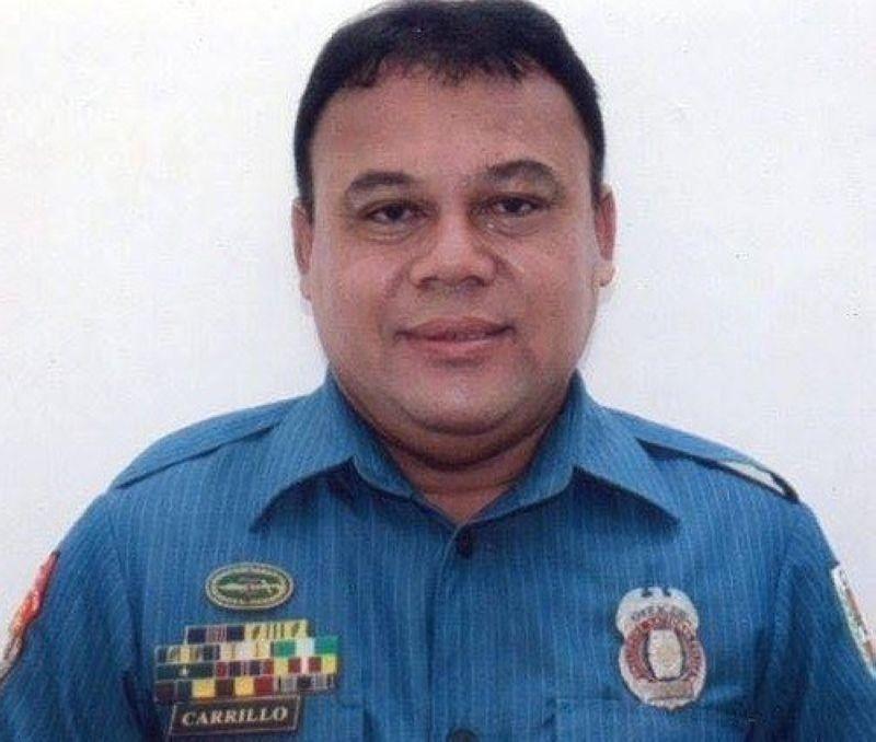 CEBU. Si Police Chief Master Sergeant Deogenes Carrillo namatay human pusila sa duha ka mga tawo nga nag-angkasay sa motorsiklo. (Tampo)