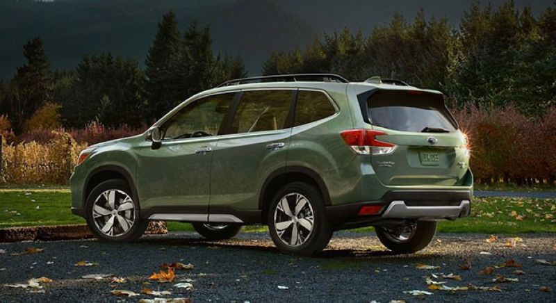 The Subaru Forester: Ready for the adventure - SUNSTAR