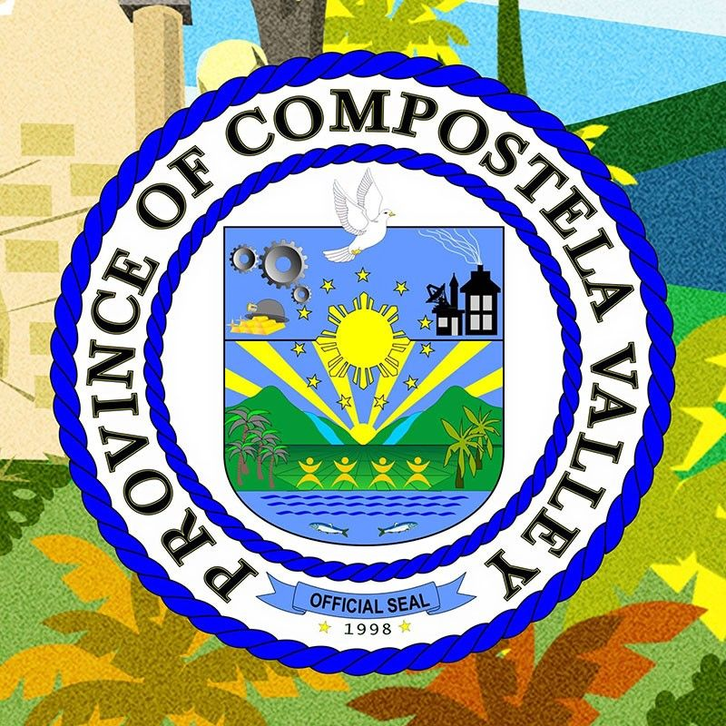 (Province of Compostela Valley official seal)