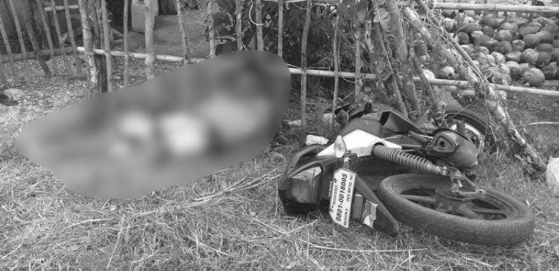 CEBU. Patay si Allan Barcelon, 43, kawani sa Municipal Disaster Risk Reduction and Management Office sa Catarman, Northern Samar human gipusil sa wa mailhing responsable. (Hulagway kuha sa Catarman Mobile Force Company)