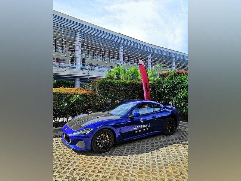 DAVAO. Maserati Esperienza (Ace June Rell S. Perez)