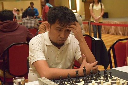 CAGAYAN DE ORO. Grandmaster candidate IM Oliver Dimakiling will try to put Davao team again in the winning track against Cagayan de Oro-MisOr, last year's winner of the Goodwill Chess Match. (Contributed photo)