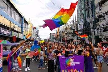 WALK WITH PRIDE. LGBTQ  community marched the streets of Araneta, Gatuslao and Lacson to commemorate and recognize inclusivity, equality, and diversity during the Bacolod Pride Parade last June 22. The event marks the return of the Pride Parade in Bacolod City which was last held in 2015. (Teleperformance)