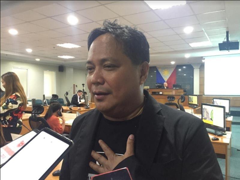 Bacolod City Councilor Dindo Ramos. (Merlinda A. Pedrosa)