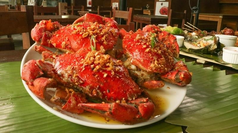 Butter Garlic Crabs of RD Crab Shack. (RJ Lumawag)