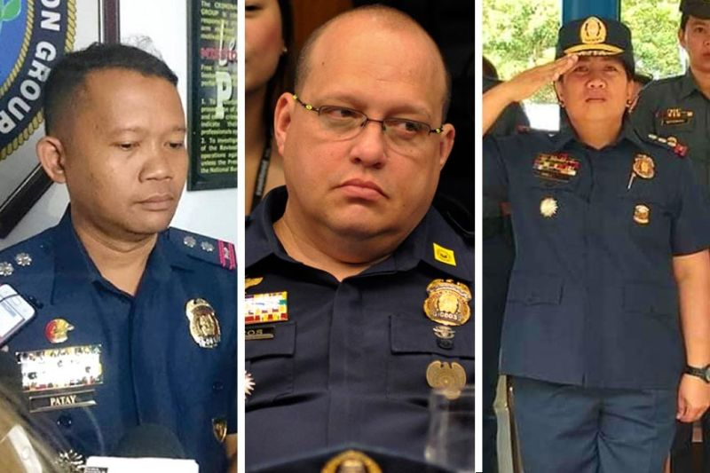 CHIEFS IN WAITING.Criminal Investigation and Detection Group (CIDG) Central Visayas chief Lito Patay (left), CIDG Eastern Visayas chief Marvin Marcos (center) and Siquijor Provincial Director Angela Rejano (right) are candidates for the post to be vacated by Cebu City Police Office Director Royina Garma. Patay and Marcos have been linked to the killings of drug suspects, a large number of them in the case of Patay; and a prominent one, in the case of Marcos. (SunStar file (Patay), Contributed photo(Marcos), Siquijor Pio (Rejano)