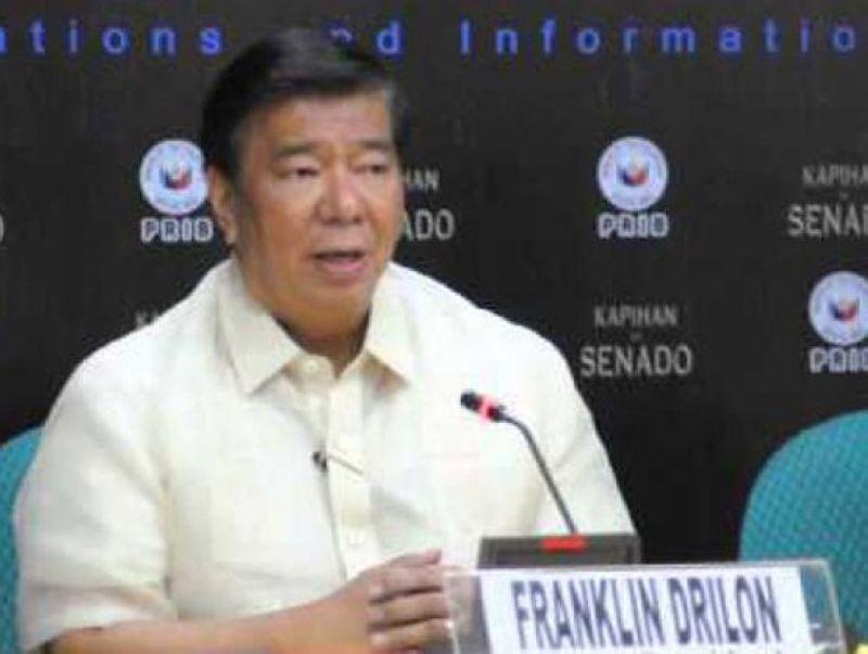 Senator Franklin Drilon (File photo)