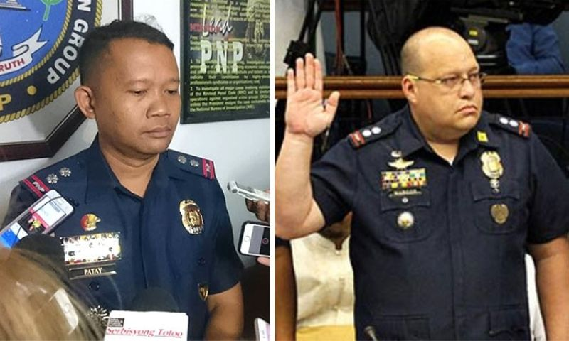 CEBU. CIDG Central Visayas Chief Colonel Lito Patay (left) and CIDG Eastern Visayas Chief Colonel Marvin Marcos. (SunStar File)