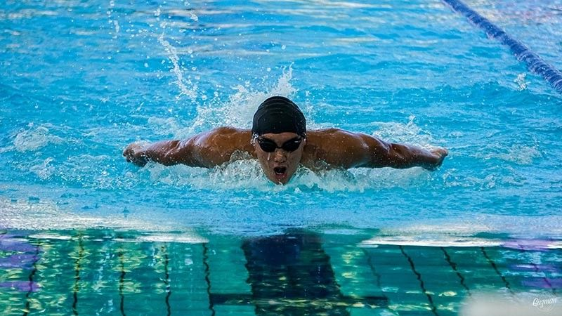 DAVAO. Juan Antonio A. Mendoza of Davao City gives Philippines a bronze medal in men's 200-meter individual medley (IM) event during the 2019 Arafura Games in Darwin City, Northern Territory, Australia last April. (Leeroy Guzman/SDD-CMO)