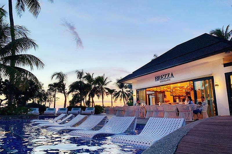 BORACAY. Brezza, Movenpick Boracay's Italian Restaurant. (Jinggoy I. Salvador)
