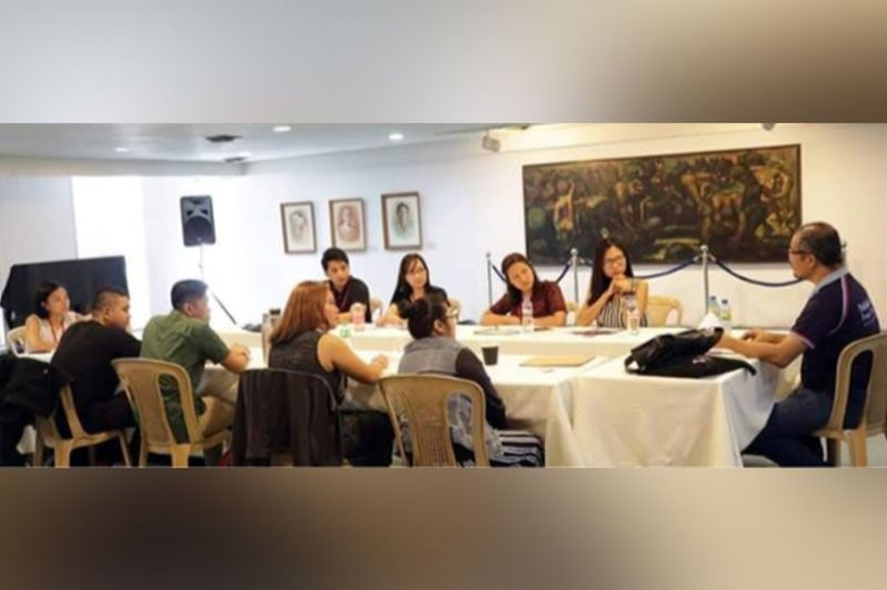 BACOLOD. Fellows of last year's vlf playwriting mentorship program with Mr. Glenn Sevilla Mas. (Contributed photo)