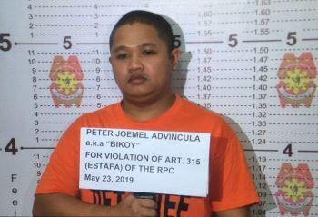 MANILA. Peter Joemel Advincula (Photo from PNP)