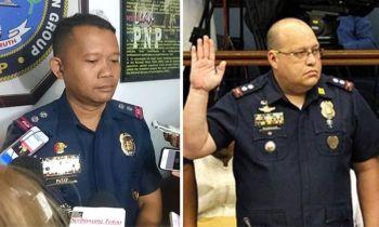 CEBU. CIDG Central Visayas Chief Colonel Lito Patay (left) and CIDG Eastern Visayas Chief Colonel Marvin Marcos. (SunStar File)