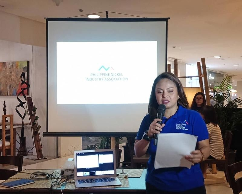 DAVAO. Philippine Nickel Industry Association (PNIA) executive director Charmaine Capili said PNIA has been planting an estimated 5.3 million trees in Caraga and in Palawan as part of their Environmental Protection and Enhancement Program (EPEP) since 2017. (Photo by Lyka Casamayor)