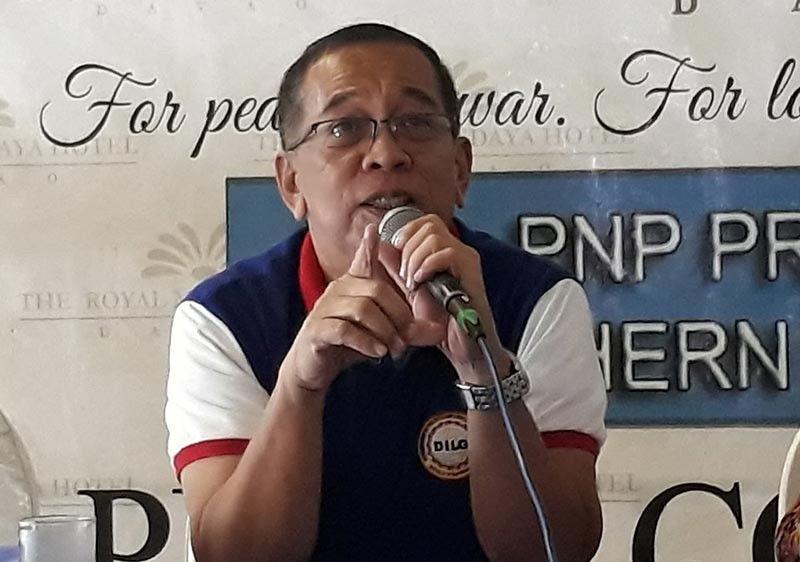 (DILG-Davao regional director Alex Roldan)