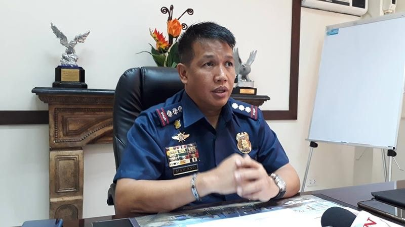 NEW FACES. Newly appointed Cebu Provincial Police Office Director Roderick Mariano said he wants members of the Provincial Intelligence Branch to be competent and transparent. (SunStar photo / Arnold Bustamante)