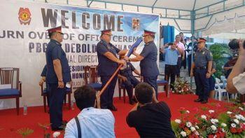 CEBU. Turnover ceremony at the Cebu Provincial Police Office on Tuesday, June 25, 2019. (Wenilyn Sabalo)