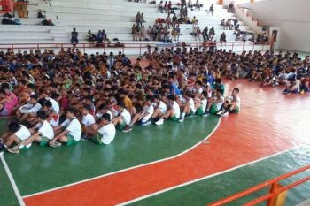 CAGAYAN DE ORO. The third season opening of the CDO Inter-Public School basketball on Sunday, June 23, at the Nazareth gym, Cagayan de Oro City. (Contributed photo)
