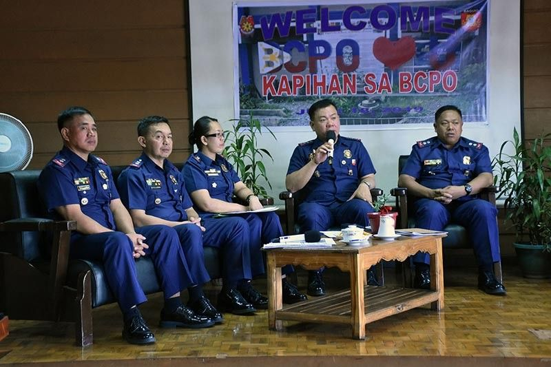 BAGUIO. Baguio City Police Office acting city director Police Colonel Allen Rae Co during the recent Kapihan sa Baguio Media Forum, encouraged the public to be more vigilant and help the police in ensuring a safe and secure Baguio City. (Photo by Redjie Melvic Cawis)