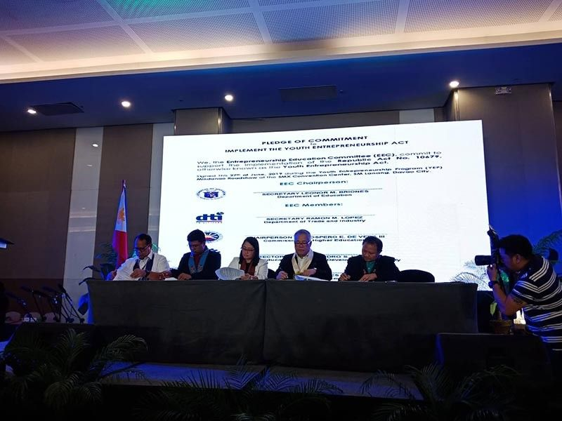 DAVAO. Micro DRI Project Launching at the Marco Polo Hotel yesterday, June 26, 2019, with GIZ Regulatory Framework Promotion of Pro-poor Insurance Markets in Asia (RFPI Asia), Department of Trade and Industry (DTI) and other stakeholders. (Photo from DTI 11 Facebook page)